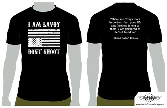 I AM LAVOY! Fundraising shirt, In Stock Now!