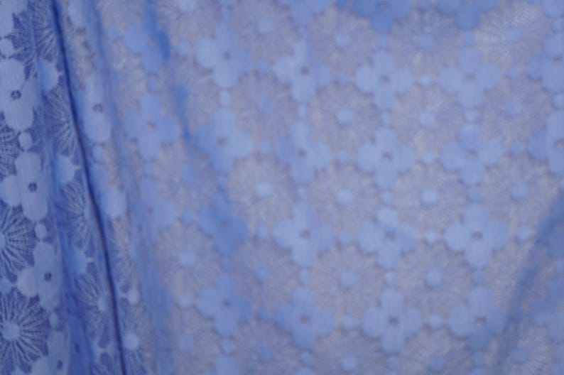 b7668d743b1 Maggy London Blue Daisy Lace Fabric Apparel Special Occasion | Etsy
