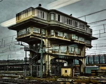 Abandoned train station. Bologna (Italy).