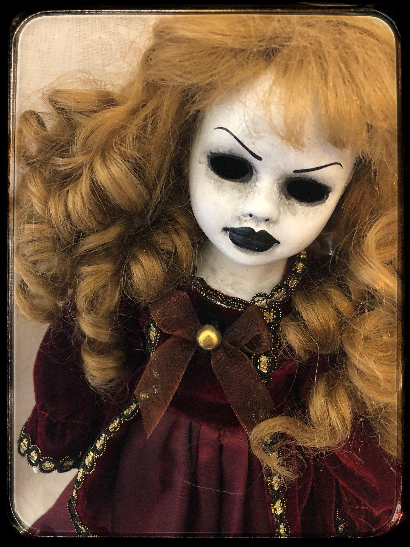 Art Doll Ooak Doll Halloween Horror Doll Creepy Doll Gothic