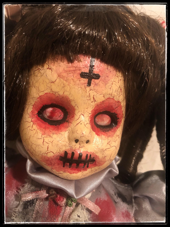 art doll - ooak doll - halloween doll-horror doll - creepy doll