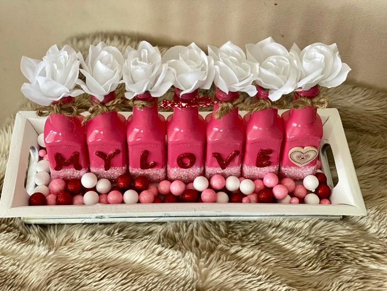 Valentine\u2019s Day Centerpiece Valentine\u2019s Day Gift Valentine\u2019s Day Party Home Decor