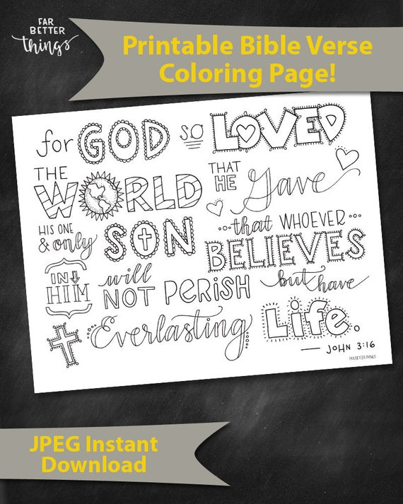 bible verse coloring page john 3 16 printable bible etsy bible verse coloring page john 3 16 printable bible coloring pages christian kids activities sunday school crafts for god so loved