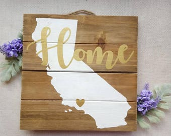 Home Town Wall Hanging- Any town, state, or country!