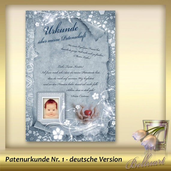 Template For Patent Certificate Patent Letter For Etsy