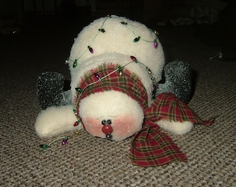 Snowman Sitter~Oops I've Fallen~Too Cute!~Last of the quantity!~Retiring!