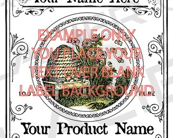 editable christmas canning gift labels template round 2 inch etsy