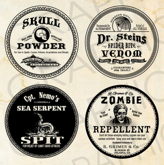 image relating to Free Printable Halloween Poison Bottle Labels referred to as Poison Bottle Labels Halloween Potion Labels Poison Labels