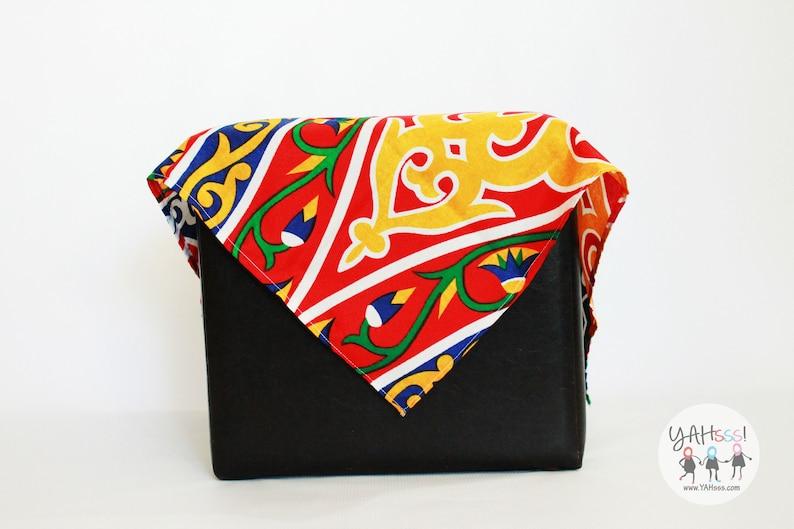 Ramadan-Eid Side Table Cloth-Red