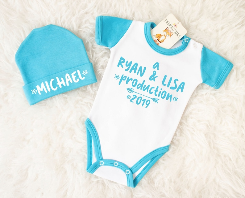 1d6fa38f Unique Baby Boy Gift. Personalized Baby Boy Outfit. Parents | Etsy