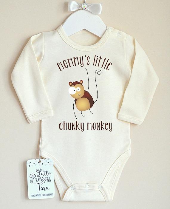 baby shower gift Monkey Outfit Baby Boy Monkey Outfit Baby Monkey shirt Baby Boy Personalized Clothes Monkey Personalized outfit