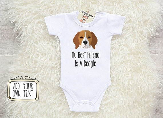 Beagle Baby Clothes My Best Friend Is A Beagle Beagle Baby