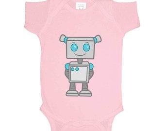 Cute Robot Girls Onesie
