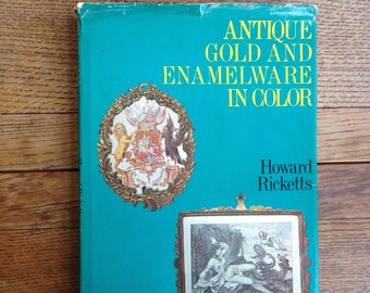 Enamels - Antique Gold and Enamelware in Color