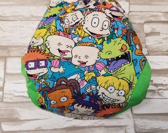 90's Cartoon OS Diaper fitted, AI2, Pocket