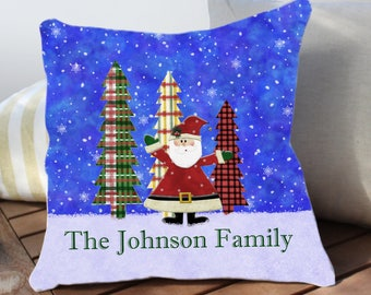 christmas outdoor pillows etsy - Christmas Outdoor Pillows