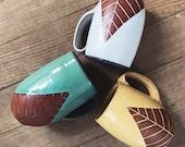 Large Ceramic Mug (Made to Order) - Oversized Jumbo Mug - Terracotta Red Clay - Handmade Modern Simple Minimal Southwestern Pottery by Osa