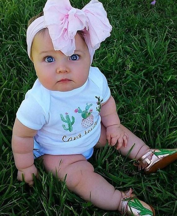 baby shower gift girl bodysuit cactus bodysuit trendy bodysuit flowers floral bodysuit Can/'t touch this bodysuit trendy baby