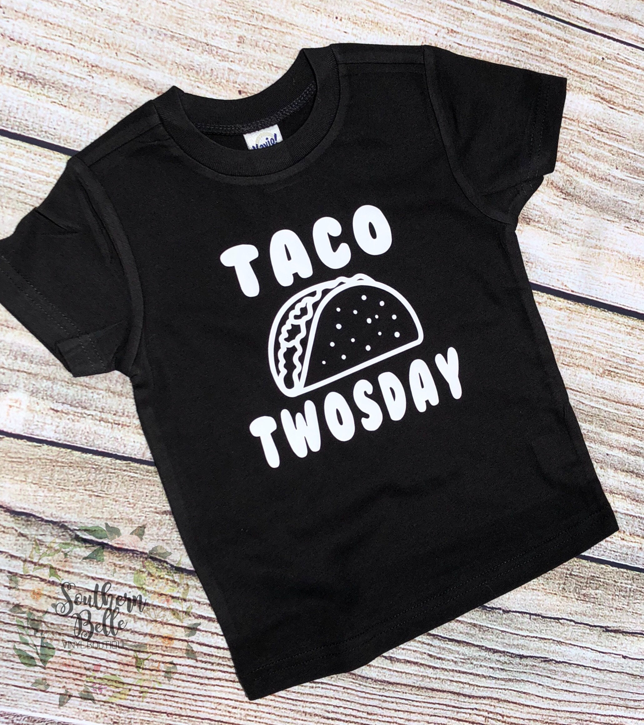 Taco Twsoday T Shirt Second Birthday Two I Am Im Party Time Tacos Graphic Unisex