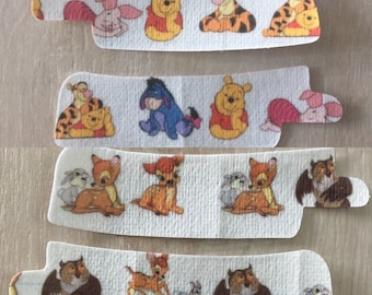 Nasogastric Tube/Oxygen Tube Adhesive Patches, NG/NJ Stickers Character Theme