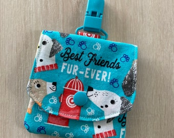 Dog Days Friends Forever Tubie Love NG/NJ Pouch
