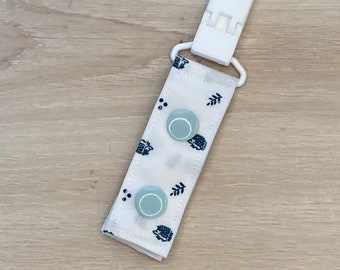 In the Meadow Hedgehogs Tubie Love Clip, Feeding Tube or IV Tube Clip