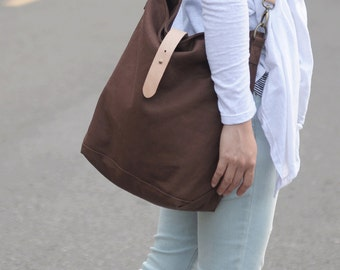 79eaf9ebd0ce Hobo Canvas Bag - Bag PDF Sewing Pattern - with Sewing Tutorials by niizo  (no supplies)