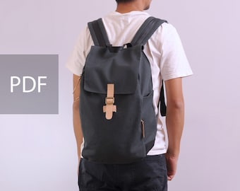 222bd0089094 Freedom Backpack - Unisex Backpack - PDF Sewing Pattern - with Sewing  Tutorials by niizo (no supplies)
