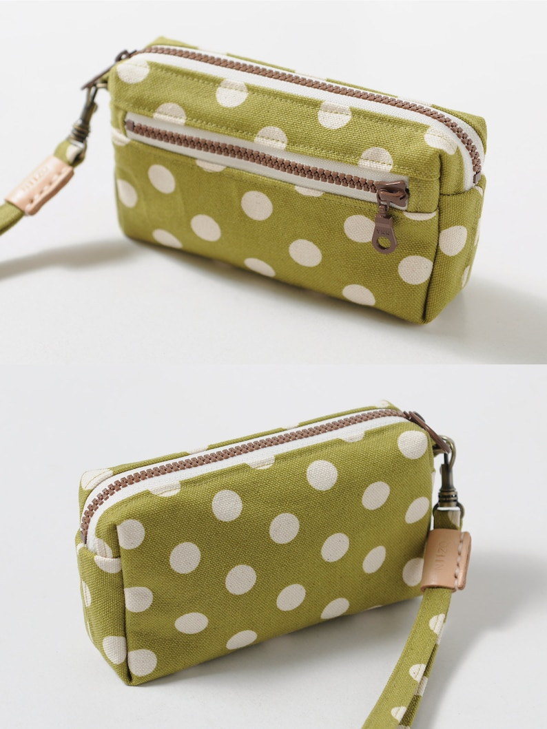 all the materials included Good Idea Coin Purse DIY Kit with Sewing Pattern /& Tutorials by niizo