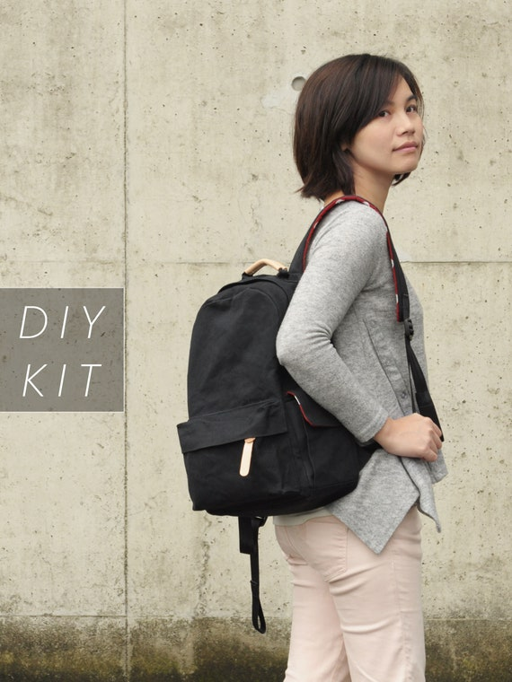 Backpack V2 Be Strong all the materials included DIY Kit with Sewing Pattern /& Tutorials