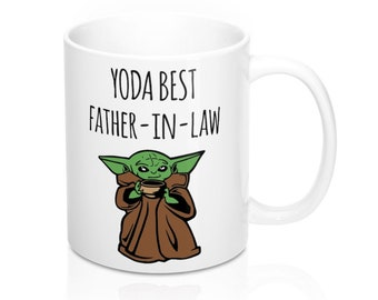 Details about  /Yoda Best Father-In-Law Ever Gift Mug You Are Family Christmas