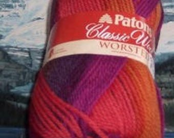 1012108044 Patons Classic Wool 3.5 oz Commotion Variegate
