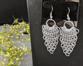 Pick-Your-Colors Half Diamond Earrings
