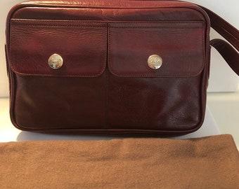 267ce374d388 Celine vintage leather shoulder bag