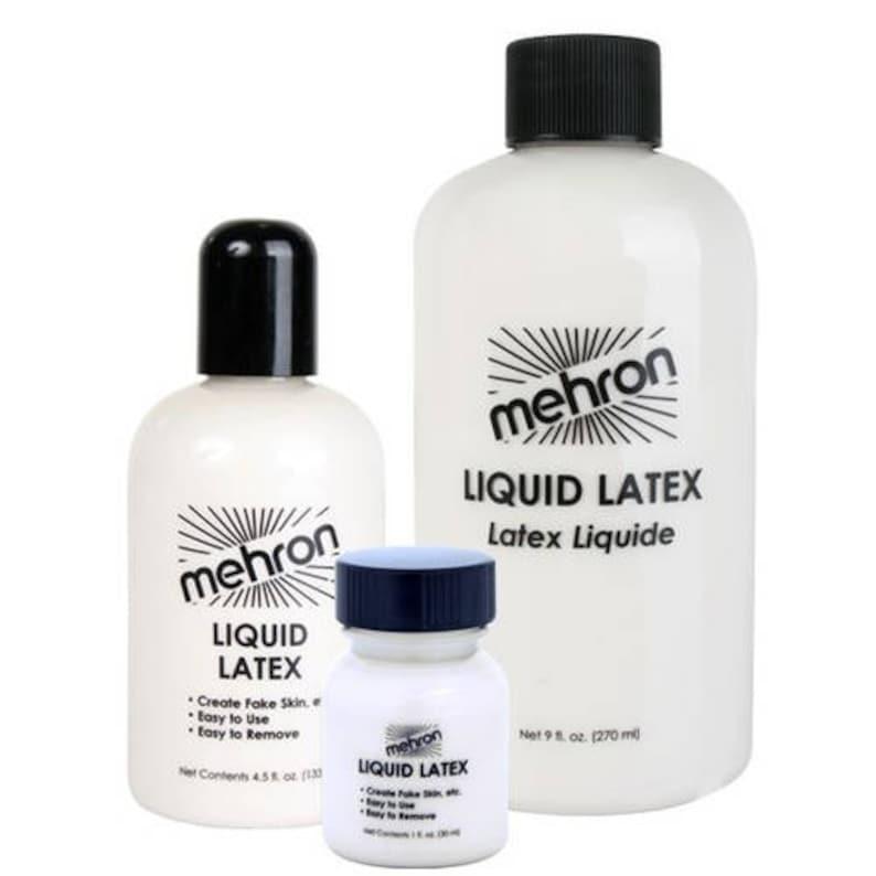 Mehron Professional Liquid Latex/Threatrical Natural Rubber image 1