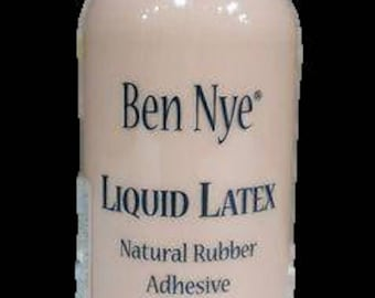 Ben Nye Liquid Latex - Flesh Colored/ Natural Rubber Adhesive / 4 oz.