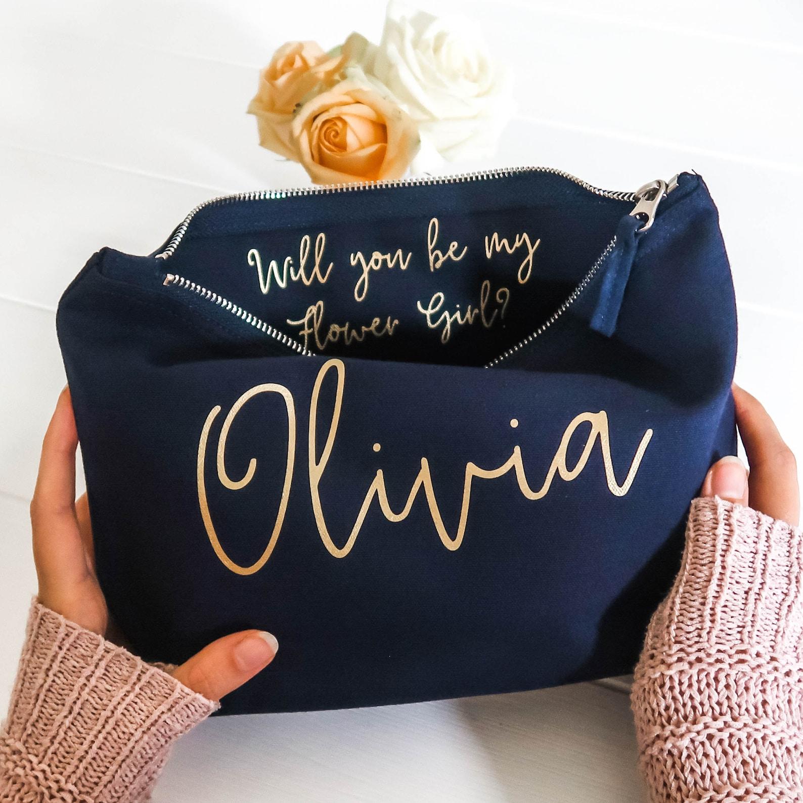 Will you be my Bridesmaid Gift Make Up Bag