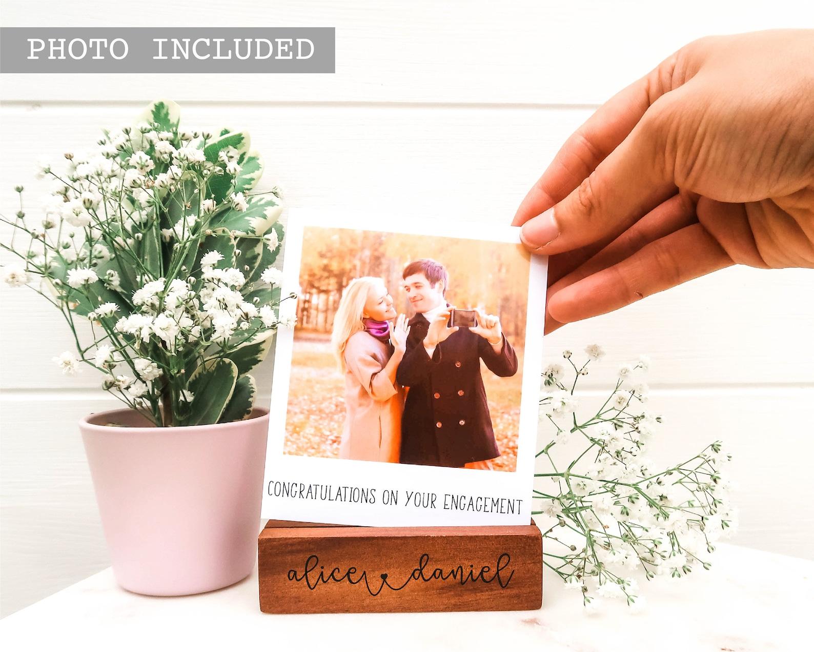 Hidden Message Polaroid Photo Block