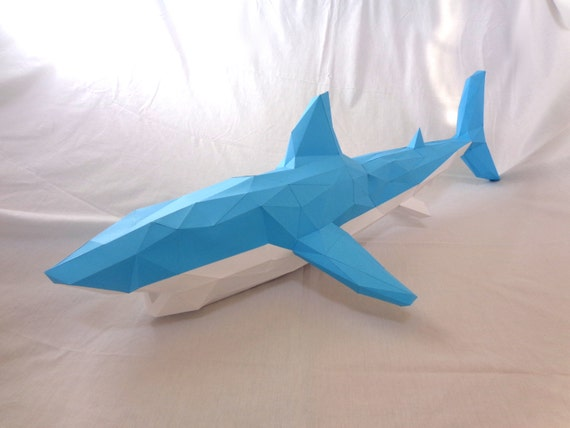 How to make 3d origami shark, part 1 - YouTube   428x570