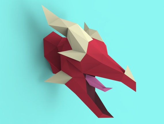 Easy Origami Dragon Head + Pete's Dragon — All for the Boys | 432x570