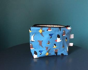 Multi-purpose organic fabric pouch