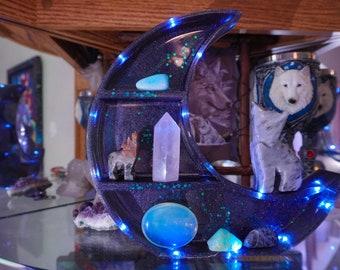 Black holographic space shelf