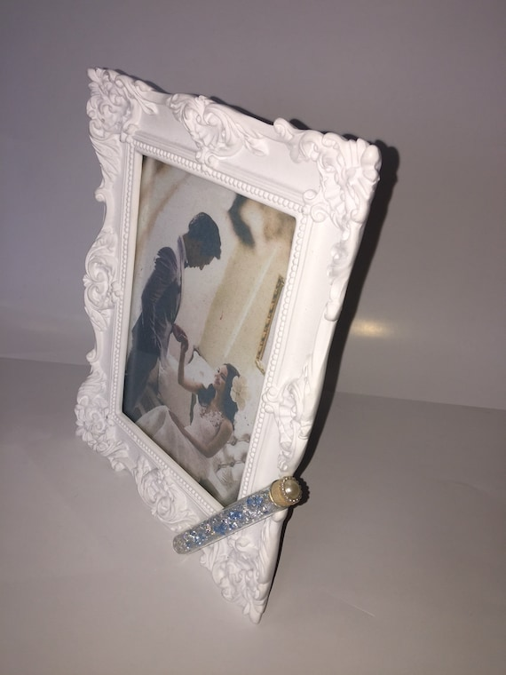 Jewish Wedding White Photo Picture Frame With A Container For Etsy