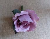 Lilac rose silk wedding b...