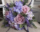 Lavender, purple and mauv...