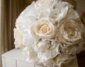 Luxury white and cream we...