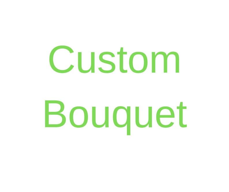 Custom bridal bouquet image 0