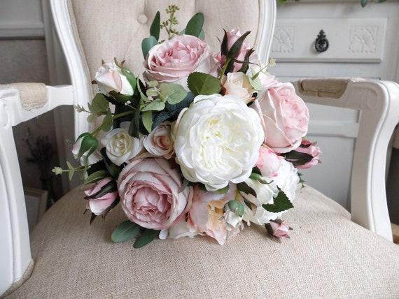 Elfenbein Erroten Rosa Und Altrosa Rosa Seide Hochzeit Etsy