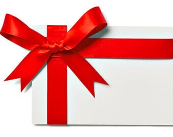 Add a Card and Gift Wrapping to any Package