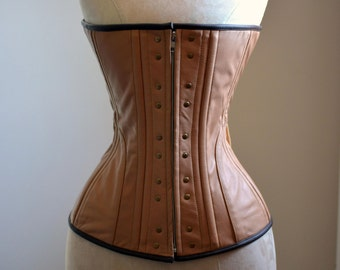 e4fc4b57a1 Ready to ship corset. Real leather Ciri cosplay corset